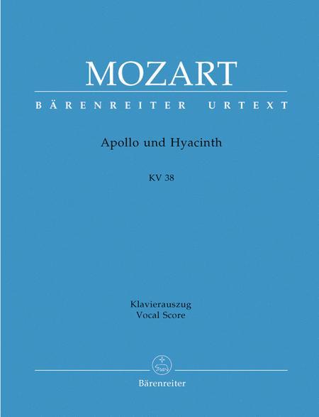 Apollo and Hyacinth, KV 38