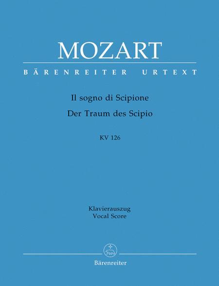 Il sogno di Scipione - Der Traum des Scipio, KV 126