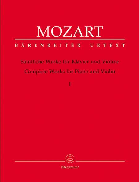 Samtliche Werke fur Klavier und Violine, Band 1