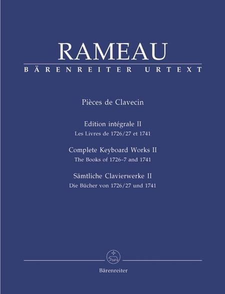 Samtliche Clavierwerke, Band II