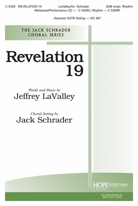 Revelation 19 Sheet Music By Lavalley - Sheet Music Plus