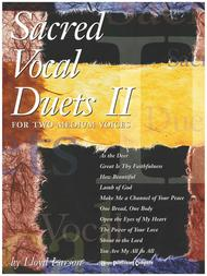 Sacred Vocal Duets II (2 Medium Voices)