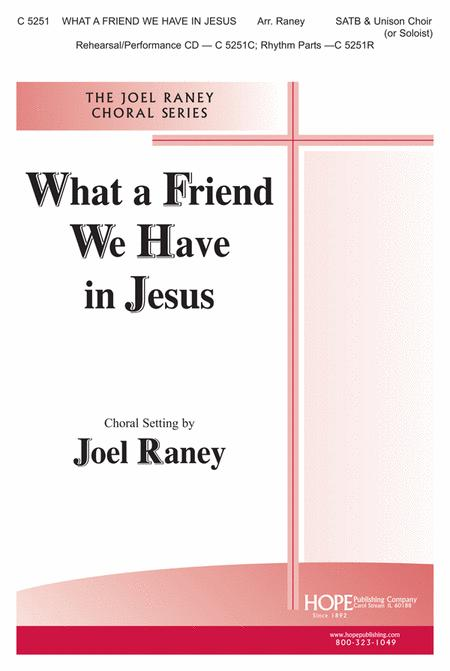 What A Friend We Have In Jesus Sheet Music By Charles C. Converse ...