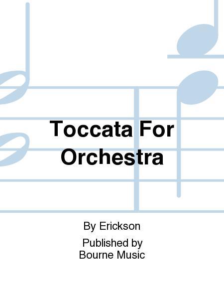 Toccata For Orchestra