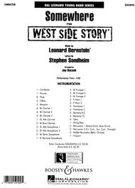 Somewhere (from West Side Story) Full Score