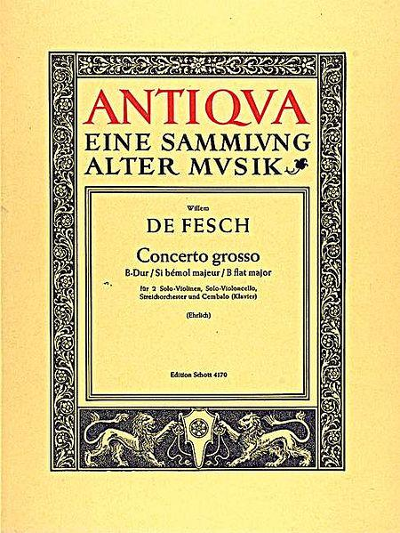 Concerto grosso B flat major