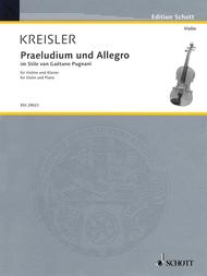 Praeludium and Allegro