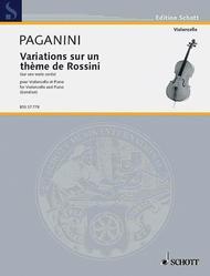 Variations sur un theme de Rossini