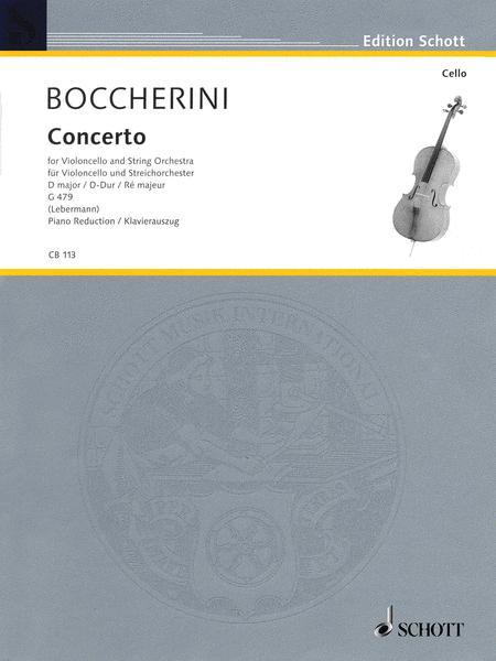 Concerto No. 2 in D Major, G. 479