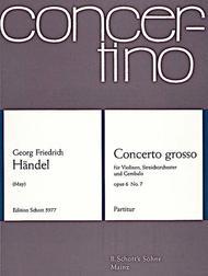 Concerto grosso op. 6 HWV 325