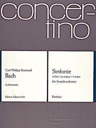Sinfonie A Major Wq 182/4