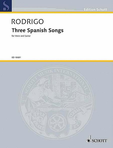 3 Spanish Songs (1951)