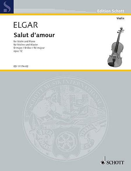 Salut d'Amour in D Major, Op. 12, No. 3