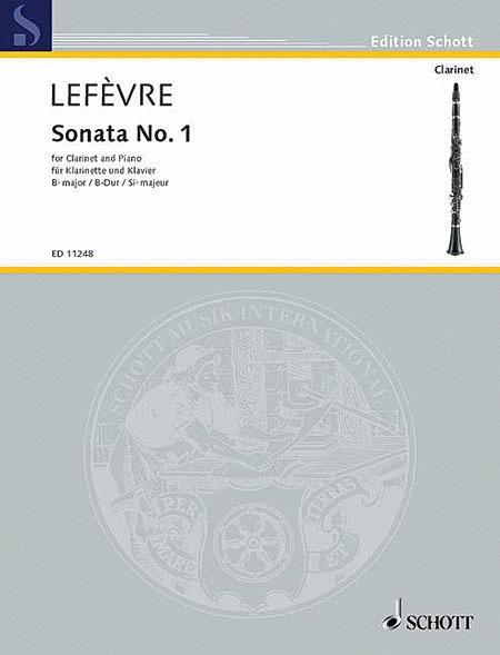 Sonata No. 1 (1802) from Methode de Clarinette
