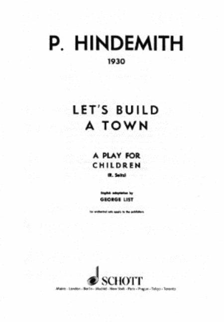 Let's build a Town