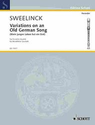 Variations on an Old German Song