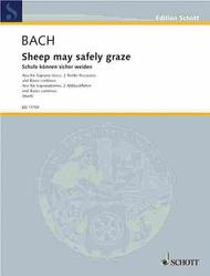 Sheep may safely BWV 208