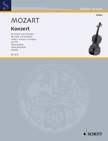 Concerto A Major KV 219
