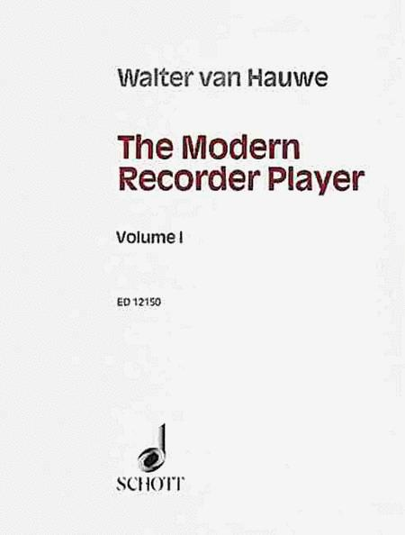 The Modern Recorder Player Vol. 1