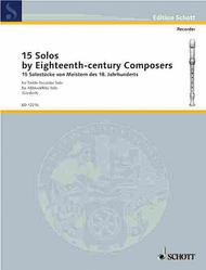 15 Solos by Eighteenth-Century Composers