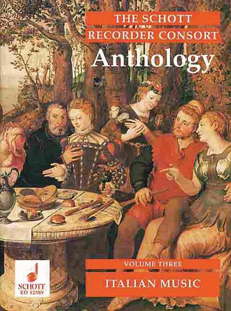 The Schott Recorder Consort Anthology Vol. 3