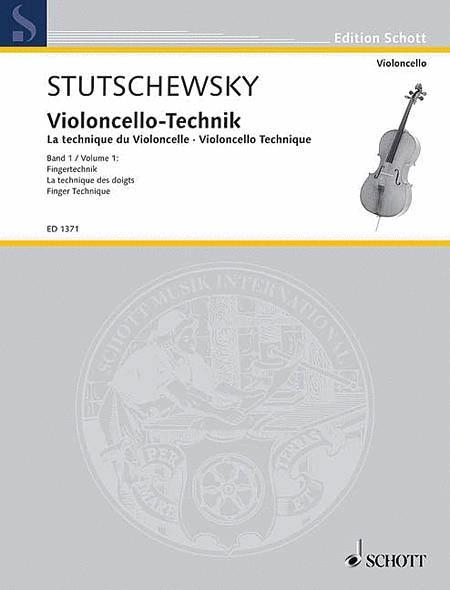 Cello Method - Volume 1 Finger Technique