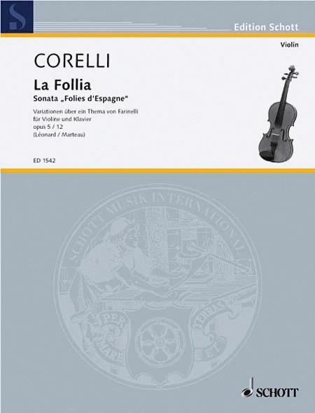 Sonata, Op. 5, No. 12 La Follia