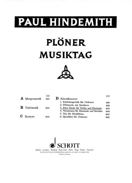 Ploner Musiktag - The Evening Concert
