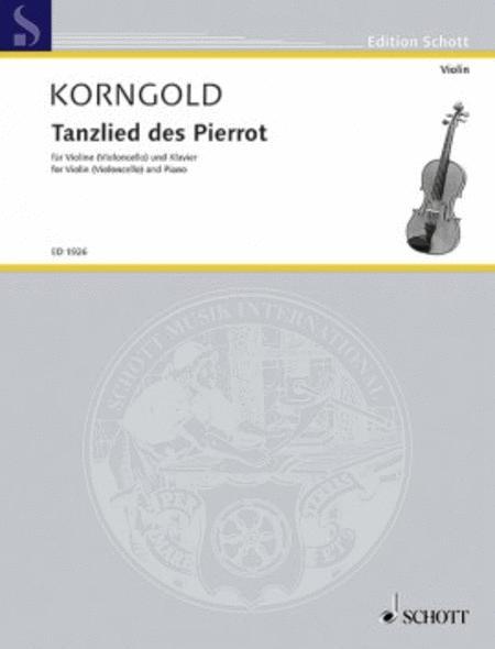 Tanzlied des Pierrot op. 12