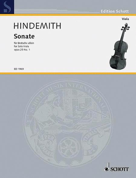 Viola Sonata op. 25/1