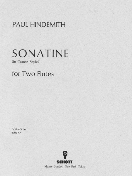 Canonic Sonatina, Op. 31, No. 3 (1923)