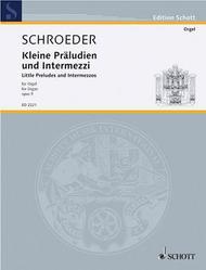 Little Preludes and Intermezzos op. 9
