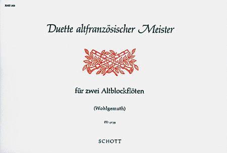 Duette altfranzosischer Meister