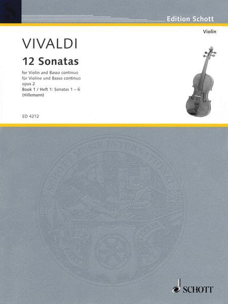 12 Sonatas, Op. 2 - Book 1