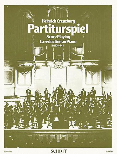 Partiturspiel Old Clefs (Score Playing)