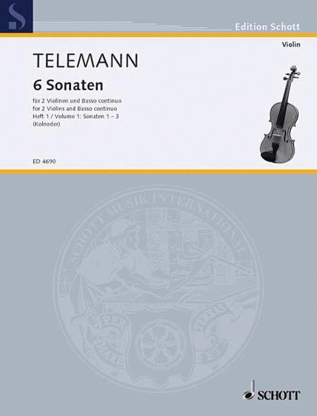 6 Sonatas - Vol. 1:1-3