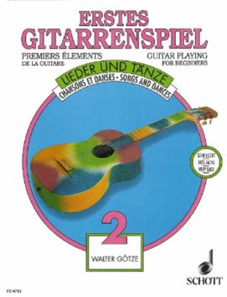 Guitar Playing for Beginners Heft 2