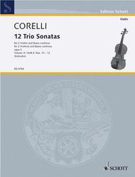 Trio Sonatas Op. 3, Nos. 10-12