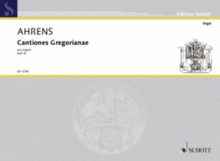 Cantiones Gregorianae pro organo Band 3