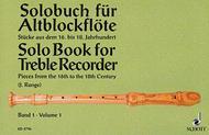 Solo Book for Treble Recorder