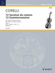 Twelve Chamber Sonatas op. 2 Band 1