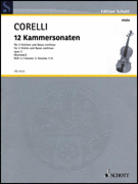 12 Trio Sonatas Op. 2, Nos. 7-9