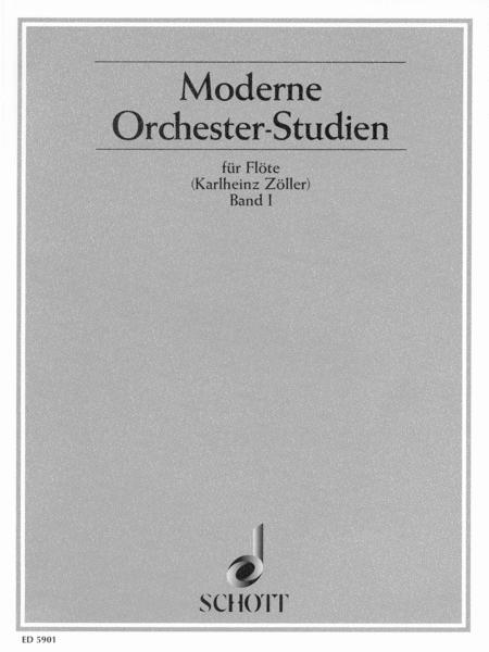 Modern Orchestral Studies for Flute Band 1