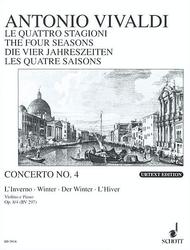 The Four Seasons op. 8/4 RV 297 / PV 442