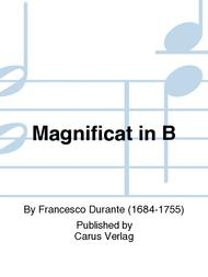 Magnificat in B flat major