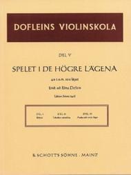 Dofleins Violinskola Band 5