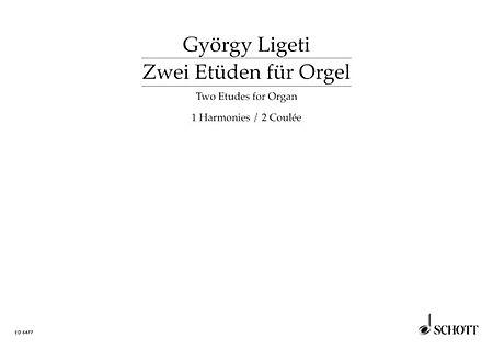 Two Etudes for Organ