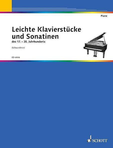 Easy piano pieces and sonatinas