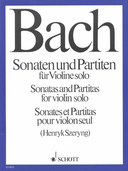 Sonatas and Partitas for Violin Solo