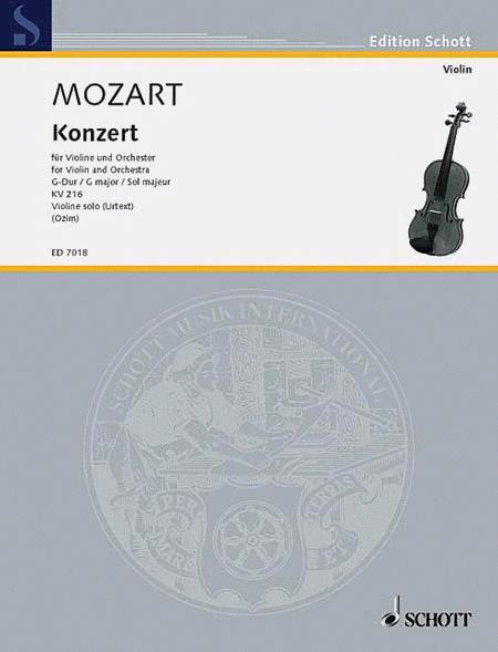 Concerto G Major KV 216